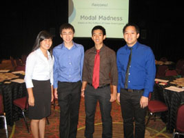 University of California Berkeley Student Chapter officers at the 2009 District Annual Meeting in Denver, CO